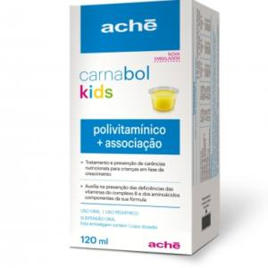 Carnabol Kids Polivitaminico 120ML