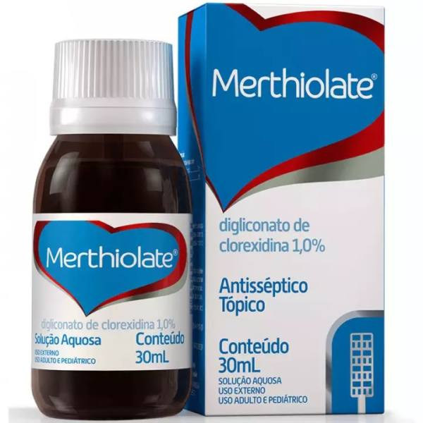 Merthiolate Solucao 30ML