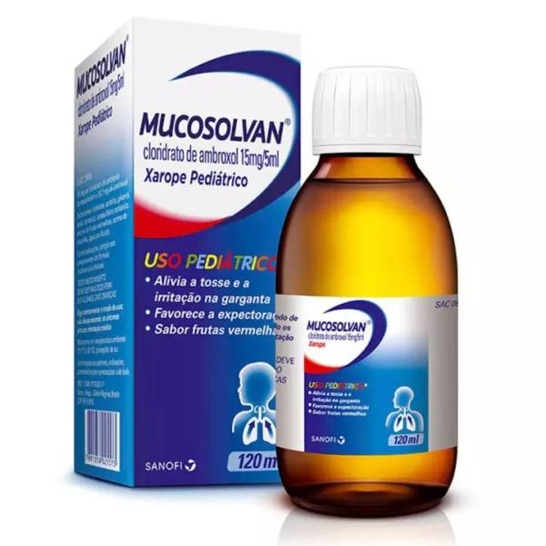 Mucosolvan Pediatrico 120ML