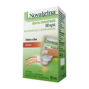 Novalgina 500MG/ML Gts 10ML