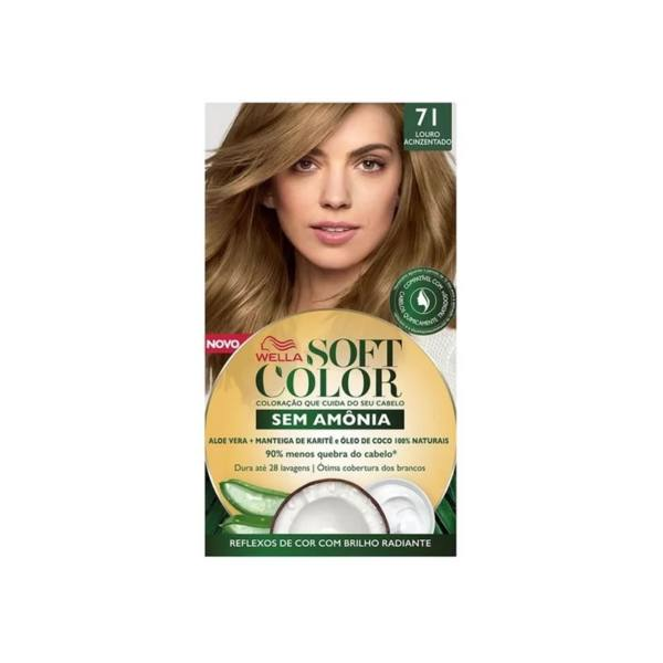 Coloracao Soft Color 71 Louro Acinzentado