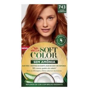 TINTURA SOFT COLOR 743 LOURO ACOBREADO