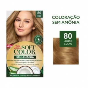 Coloracao Soft Color 80 Louro Claro