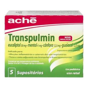 Transpulmin Supositorio Pediatrico