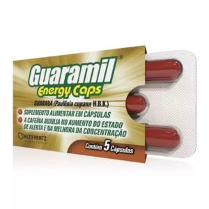 GUARAMIL ENERGY CAPS C/5 CAPSULAS