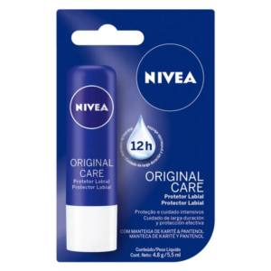 Protetor Labial Nivea Original Care 24h
