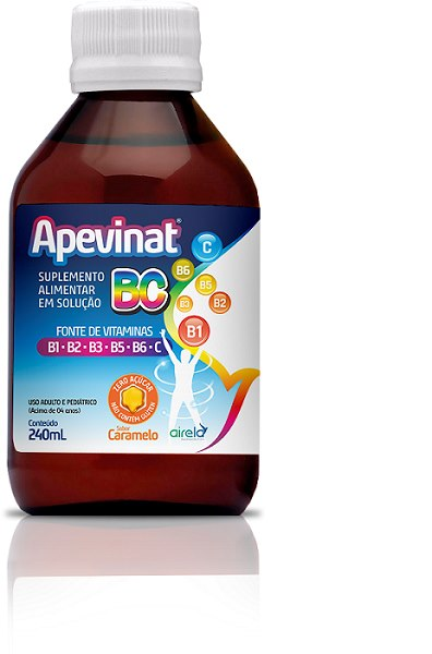 Apevinat BC Caramelo 240ML