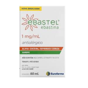 Ebastel 1MG/ML Xarope 60ML